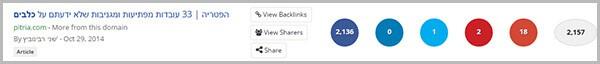 חיפוש רעיונות לתוכן: חיפוש תוכן ויראלי 2