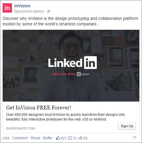 מודעות פייסבוק מעולות - שימוש בניגודיות חזקה בתמונה
