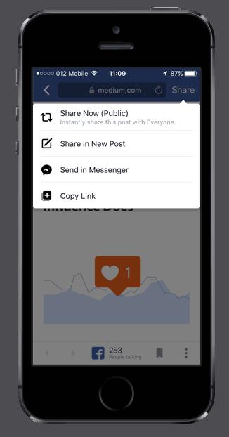דפדפן פייסבוק במובייל